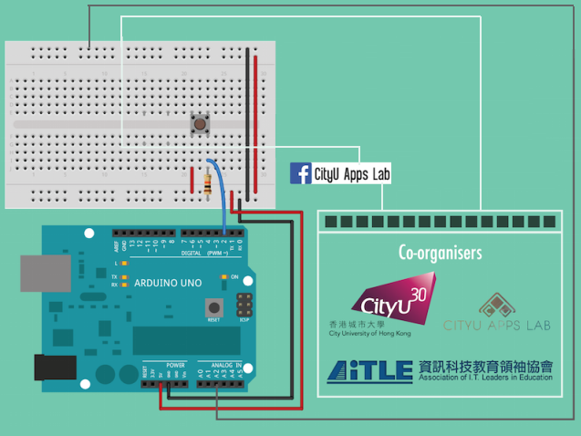AiTLE + CityU App Lab Workshop : Arduino Workshop (Elementary)