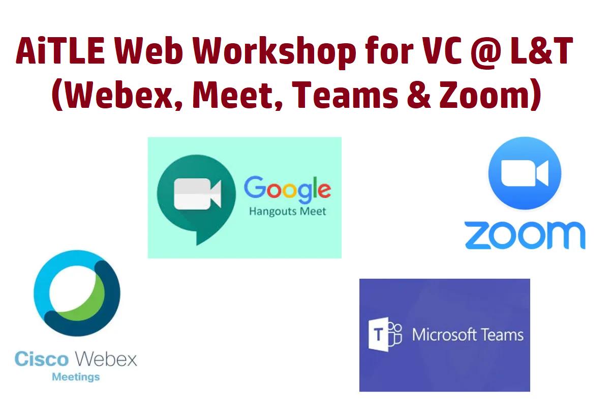AiTLE Web-Workshops for VC @ L&T (Meet)